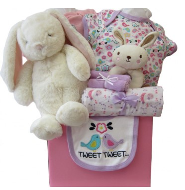 My Little Bunny Gift Basket