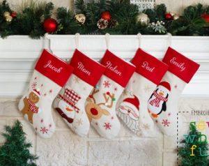 custom Christmas stockings Canada-PERSONALIZED Christmas Stocking