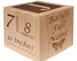 Toddler Gifts Canada-Personalized Baby Block