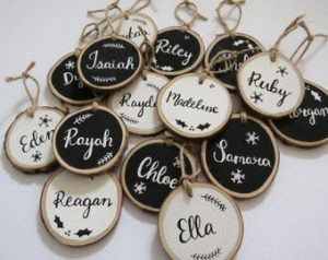 Cool Christmas Gifts Canada-Personalized Christmas Ornaments