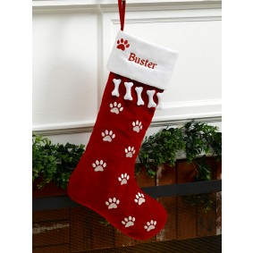 custom Christmas stockings Canada-Personalized Pet Dog Christmas Stocking
