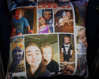 Photo Pillow Case Collage