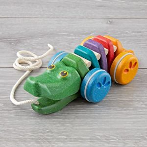 Toddler Gifts Canada-Plan Toys Alligator Pull Toy