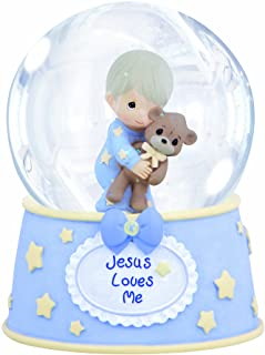 Precious Moments – Boy with Teddy Waterball