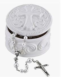 Rosary Keepsake Box