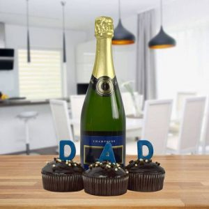 First Father's Day Gifts Canada-SPARKLING TREATS FATHER'S DAY GIFT BASKET