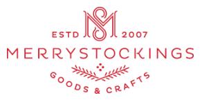 custom Christmas stockings Canada-MerryStockings Logo