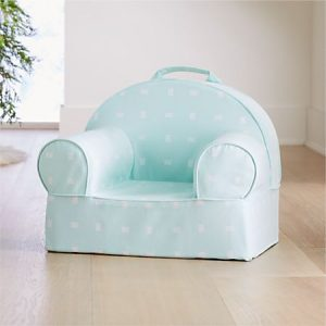 Toddler Gifts Canada-Small Mint Dash Nod Chair