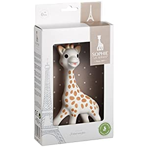 Toddler Gifts Canada-Sophie la Girafe Vulli the Giraffe Teether (Creme)