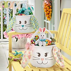 Personalized Easter Baskets Canada-Sweet Easter Bunny Basket