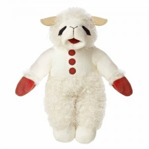 Cool Christmas Gifts Canada-Talking Lamb Chop Stuffed Toy by Shari Lewis