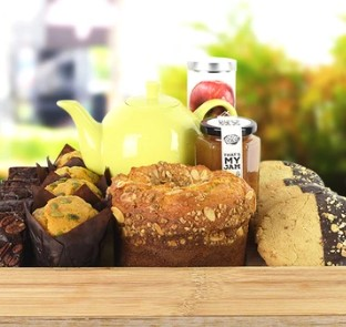 TeaTime with Treats Gift Basket