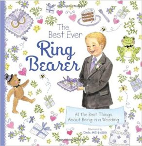 Ring Bearer Gifts Canada-The Best Ever Ring Bearer All the Best Things About Being in a Wedding Hardcover