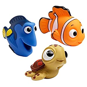 Toddler Gifts Canada-The First Years Disney-Pixar Bath Squirt Toys, Finding Nemo