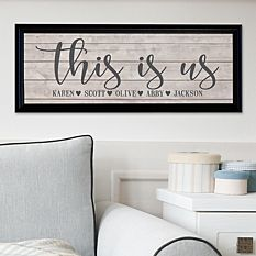 Cool Christmas Gifts Canada-This Is Us Canvas