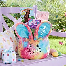 Personalized Easter Baskets Canada-Tie Dye Easter Basket