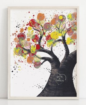 Tree of Life Wall Art for Couples
