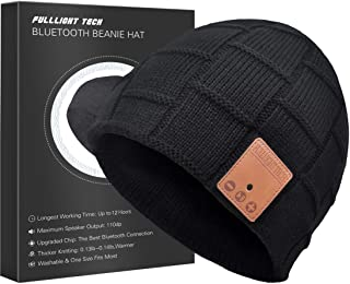 Upgraded Bluetooth Beanie Hat with Headphones
