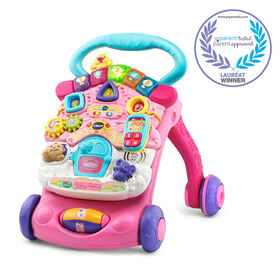 Toddler Gifts Canada-VTech® Stroll & Discover Activity Walker™ - Pink - English Edition - Exclusive