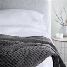 First Father's Day Gifts Canada-WELLNESS WEIGHTED BLANKET - 15LB, GREY