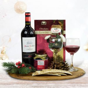 Cool Christmas Gifts Canada-WINE & WINE JELLY GIFT SET