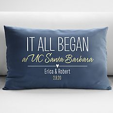 Cool Christmas Gifts Canada-Where It All Began Throw Pillow-Where It All Began Throw Pillow