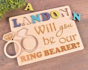 Ring Bearer Gifts Canada-Will you be my ring bearer puzzle will you be our ring bearer proposal