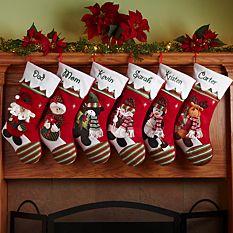 custom Christmas stockings Canada-Winter Wonderland™ Personalized Stocking