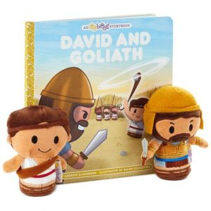 Hallmark Canada First Communion Gifts-itty bittys® David and Goliath Plush and Storybook Set