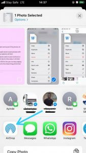 How to Change AirDrop Name-AirDrop Sharing Options