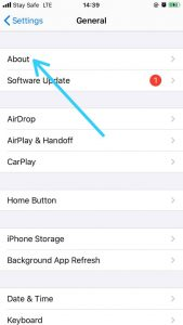 How to Change AirDrop Name-About Settings