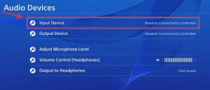 Can you Connect Bluetooth Headphones to PS4-Input Device