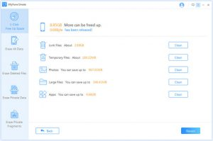 How to clear cache on iPhone-Junk and Temporary files