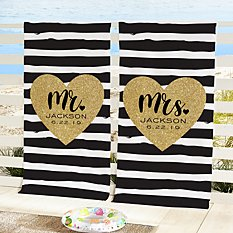 Just Married Beach Towels