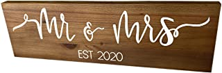 Mr and Mrs Wood Sign