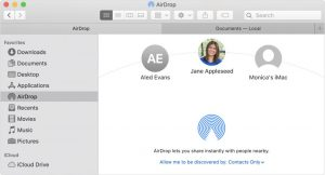 How to Change AirDrop Name-macOS Airdrop