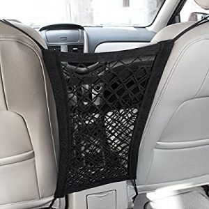 universal accessories for cars-Adjustable Height Comfort Pads, Armrest Box Extender, Car Center Console(Black with Red Thread)