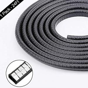 universal accessories for cars-Anumit 24Ft U Shape Rubber Seal Trim Car Door Protector