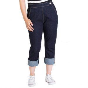 Charlie Denim 50s Retro Capris Jeans