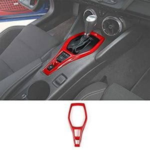 universal accessories for cars-CheroCar Gears Shift Panel Trim Cover Dash Board Decor Sticker for Chevrolet Camaro 2016+