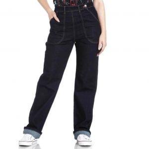 Denim Vintage-Style Jeans