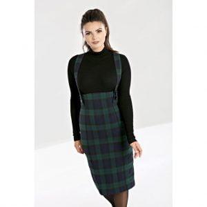 Alternative Plus Size Clothing-Evelyn Suspender Skirt