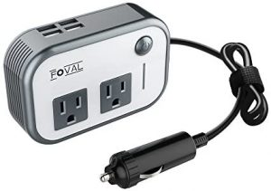 universal accessories for cars-Foval 200W Car Power Inverter