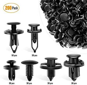universal accessories for cars-GOOACC Universal Plastic Fender Clips