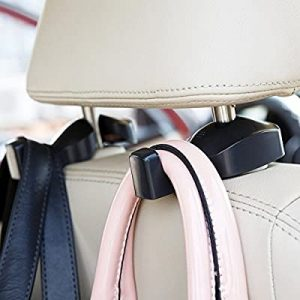 universal accessories for cars-IPELY Universal Back Seat Headrest Hanger Holder Hook