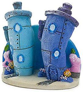 Spongebob Accessories for Cars-Spongebob Bikini Aquarium Ornament