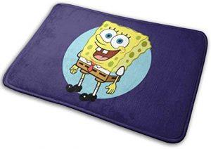 Spongebob Accessories for Cars-Spongebob Footmat