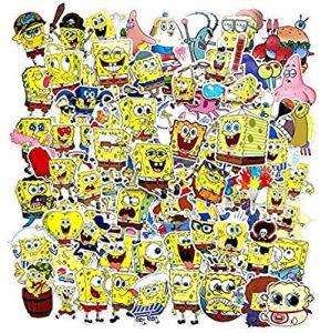 Spongebob Accessories for Cars-Spongebob Happy Moments' Sticker
