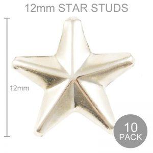 Star Studs - Silver