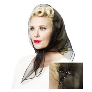 Vintage Hairstyling Tidy Tresses Hair Scarf
